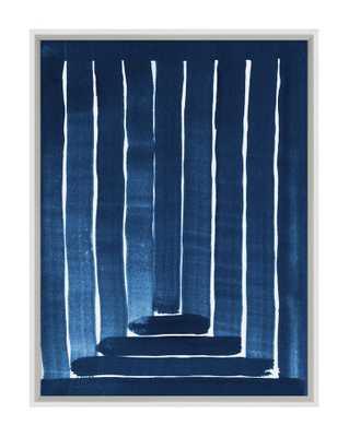 NAVY STEPS Framed Art - McGee & Co.