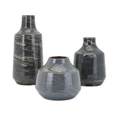 Stuart Vases - Set of 3 - Mercer Collection