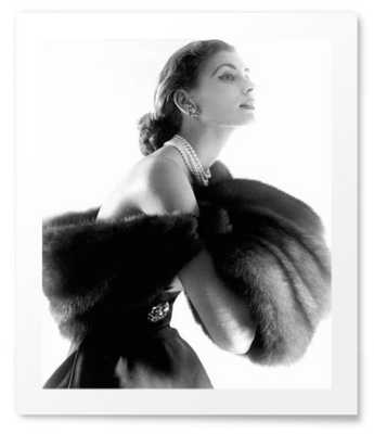 Suzy Parker in Fur - Photos.com by Getty Images