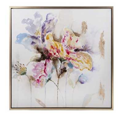 Delicate Framed Oil Painting - Mercer Collection