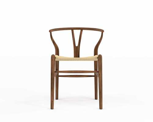 Wishbone Chair - Walnut/Natural - Rove Concepts