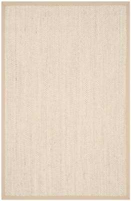 Monadnock Marble / Linen Area Rug - 8 x 10 - Wayfair