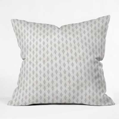 BOHO DIAMOND Outdoor Throw Pillow - 16 x 16 - Wander Print Co.