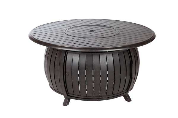 Aluminum Propane Fire Pit Table - Wayfair