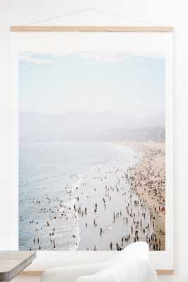 LA Summer Art Print And Hanger- 40'' x 60''-Unframed- no mat - Wander Print Co.