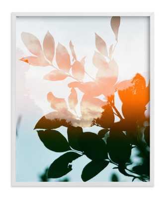 season's change - 16 x 20 - white wood frame - Minted