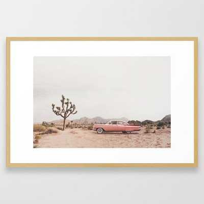 California Living Framed Art Print - Society6