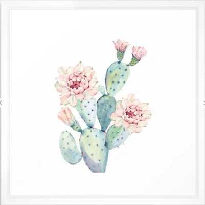 The Prettiest Cactus Framed Art Print - Society6