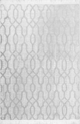 Vintage Trellis Josie Fringe Rug - Loom 23