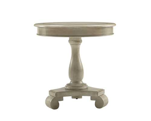 Constance Round End Table-Ivory - Wayfair