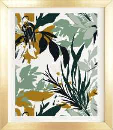 BOTANICAL BRUSHSTROKES - Wander Print Co.