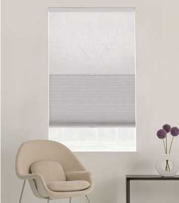 Glowe by the Shade Store: Style: DayNight Fabric Color: Glacier White Dimension: 59 X 59 - Bed Bath & Beyond