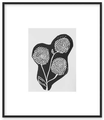 black and white bouquet - Artfully Walls