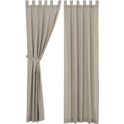 Trehan Tab Top Short Room Darkening Rod Pocket Curtain Panel - Wayfair