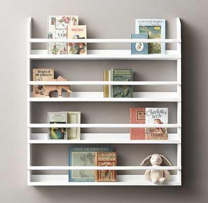 WOOD BOOK DISPLAY SHELVES - LARGE - RH Baby & Child