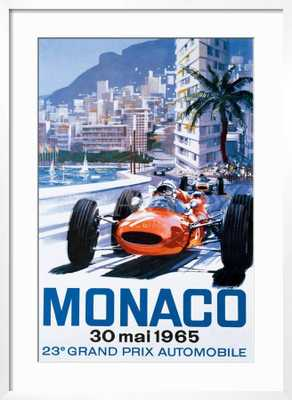Grand Prix Monaco, 30 Mai 1965 - art.com