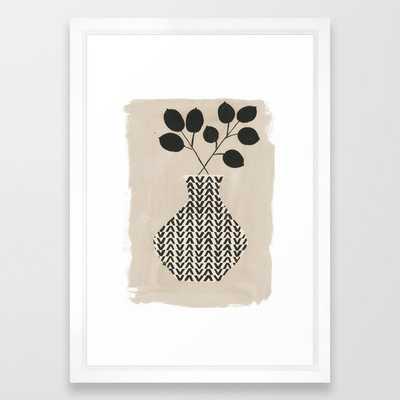 Vadim Vase Framed Art Print - Society6