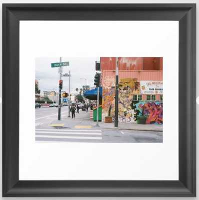 Mission District, SF Framed Art Print - Society6