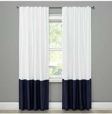 "Block Curtain Panels - Project 62 - 84""L - Target"