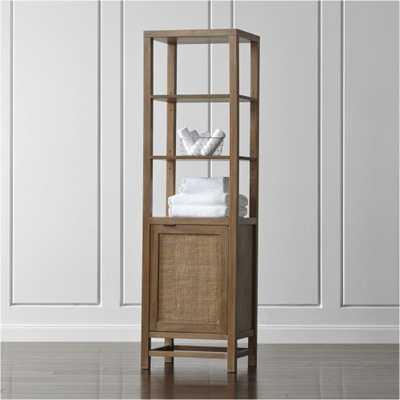 Blake Grey Wash Tall Cabinet - Crate and Barrel