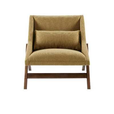 William Lounge Chair- Mustard Yellow - Wayfair
