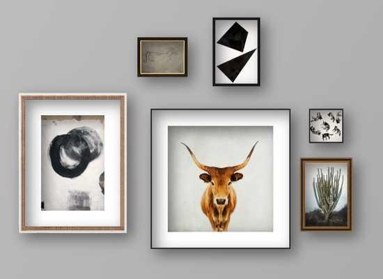 Custom Gallery Wall - Artfully Walls