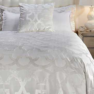 Edessa Bedding - Pearl - KING - Z Gallerie