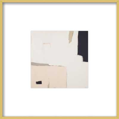 Illa Study 1 8 x 8 Gold Frame - Artfully Walls