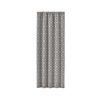 "Roston Geometric Curtain Panel - 50"" x 84"" - Crate and Barrel"