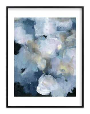 """imbue art print, 30""""x40"""", Rich Black wood Frame with White Border - Minted"""
