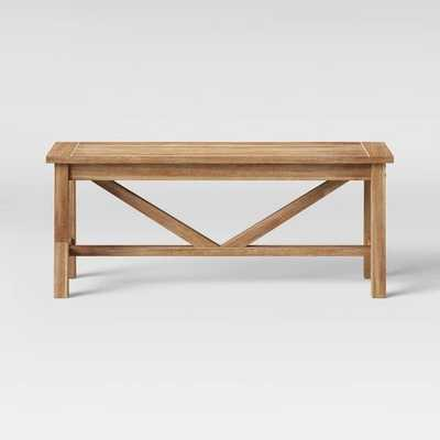 Wheaton Dining Bench - Threshold™ - Target