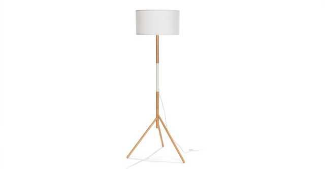 Stilt White Floor Lamp - Article