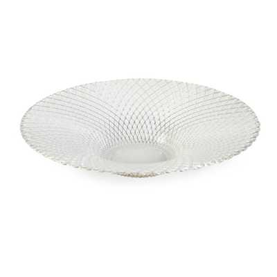 Essentials White Glass Bowl - Mercer Collection