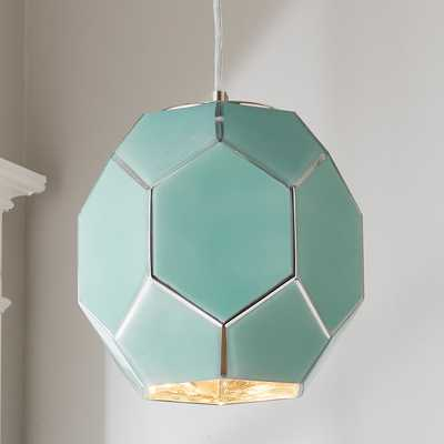 YOUNG HOUSE LOVE HEXAGON GLASS PENDANT - Shades of Light