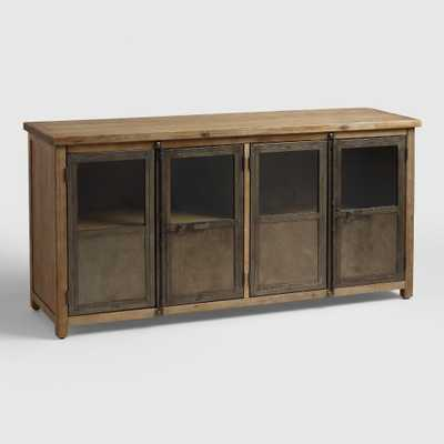 Langley Storage Cabinet: Brown - Wood by World Market - World Market/Cost Plus