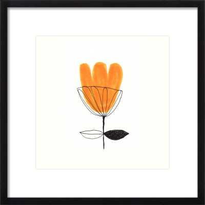 Orange Flower  BY JANE REISEGER - Artfully Walls