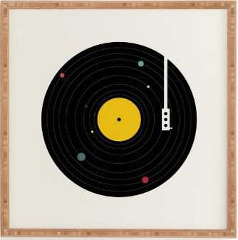 MUSIC EVERYWHERE, framed art print - Wander Print Co.