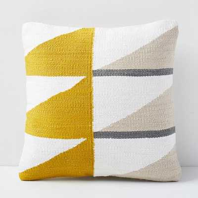 Reflected Angles Pillow Cover, Copper - West Elm