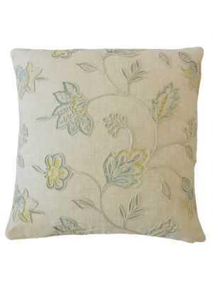 Abigaia Floral Pillow Capri with insert - Linen & Seam