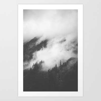 PNW Storm II Framed Art Print - Society6