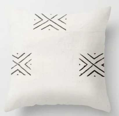 big X Throw Pillow 20x20 with insert - Society6