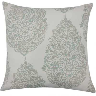 Lanza Damask Pillow Twill - 26 x 26 - Linen & Seam