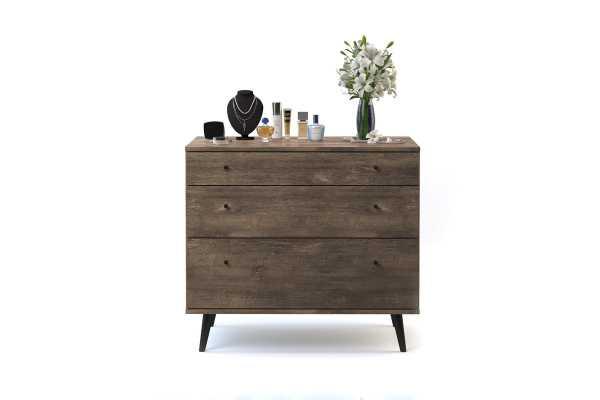 Norloti 3 Drawer Dresser - AllModern