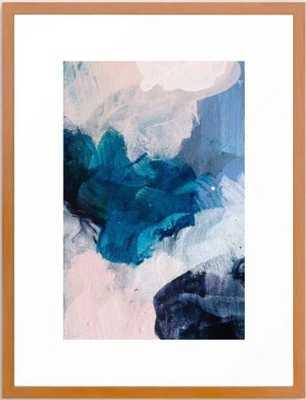 Palette No. Twenty Five Framed Art Print 20x26, Conservation Pecan - Society6