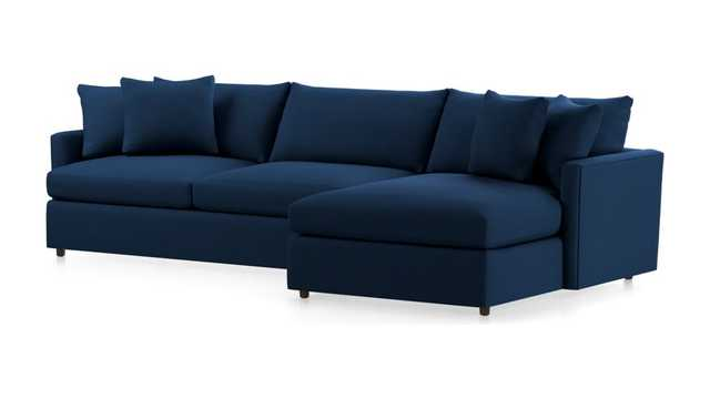 Lounge II 2-Piece Sectional - Crate and Barrel