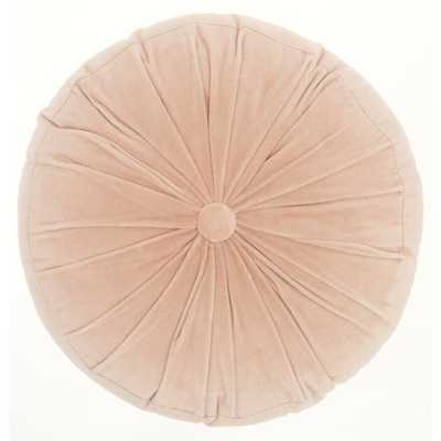 Gaelle Round Cotton Pillow Cover & Insert - AllModern
