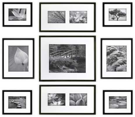 9 Piece Boulware Wood Picture Frame Set - Wayfair