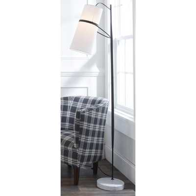 BANDED CYLINDER SHADE FLOOR LAMP - Shades of Light