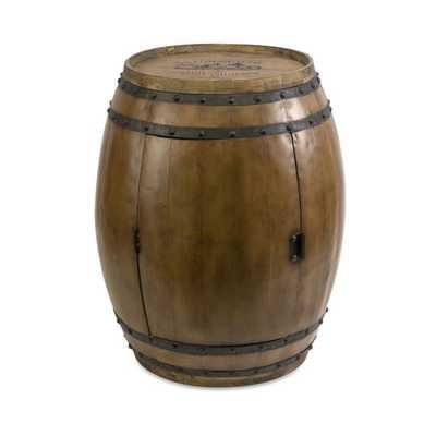 Napa Barrel Table - Mercer Collection