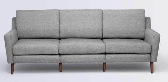 Sofa in Crushed Gravel - Burrow